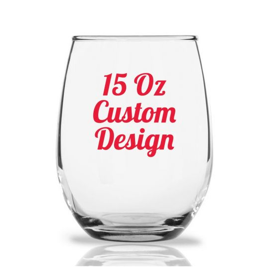 4ce0ea32daa Stemless Wine Glass Favors